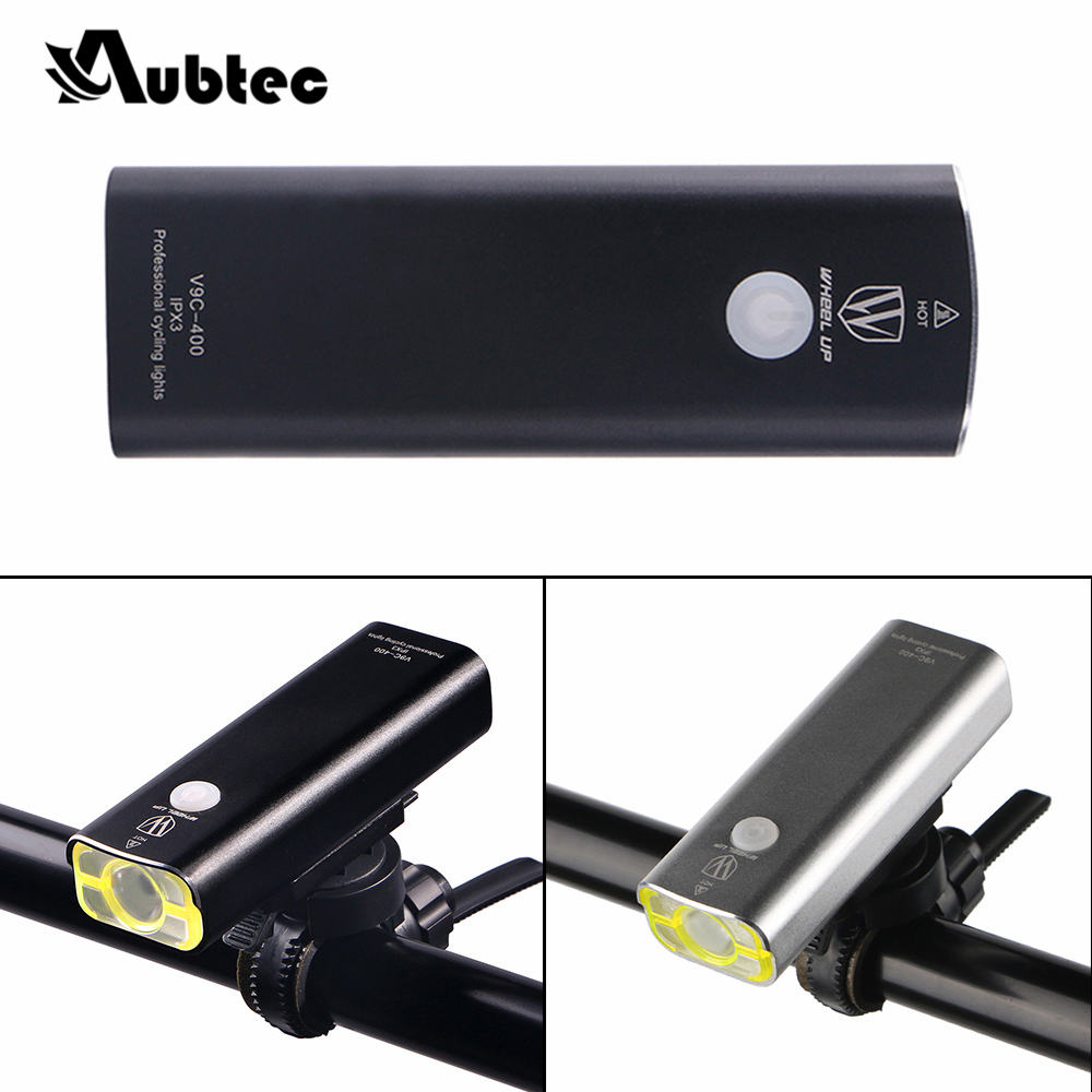 Aubtec Dropshipping 1*Bicycle Light Front Handlebar Cycling Led Light Battery Flashlight Torch Bicycle Accessories Free shipping