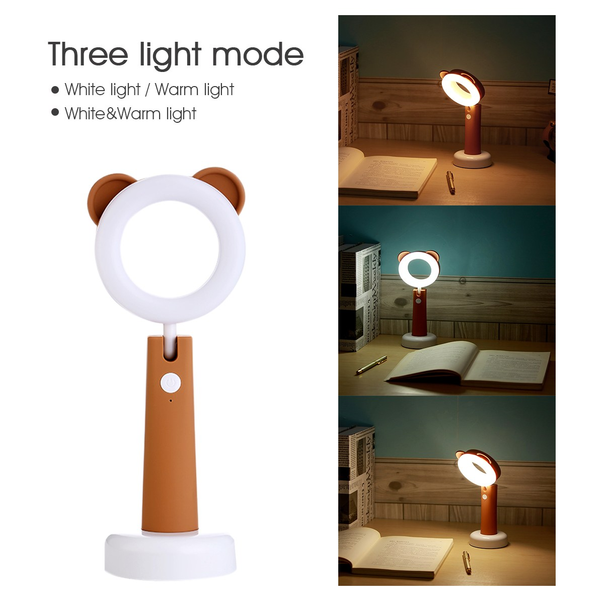 Portable Touch Control Animal Led Night Light Table Desk Lamp Children Kids Baby Sleeping Room USB charging Reading Lighting novelty led night light wireless remote control dimmable night lamp rgb kids children desk table lights usb 5v