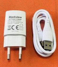 """Cargador de viaje Original 2.0A Adaptador de enchufe de la UE + Cable USB para Blackview BV6000 4,7 """"HD MT6755 Octa sin núcleo"""
