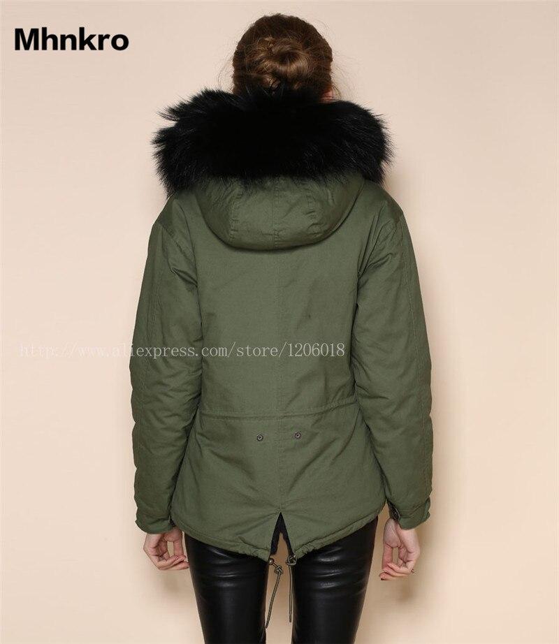 En Noire Hiver Col Mode Parka Femmes Laveur Manteaux Nouvelle Fausse Et Fourrure Raton 2018 Noir Gros Mme Vêtements Chauds pFwTqHw1