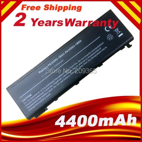 Batterie d'ordinateur portable pour Toshiba Satellite L10 L20 L15 L100 L25 L30 L35 Série PA3420U PA3420U-1BAS PA3420U-1BRS PA3450U-1BRS