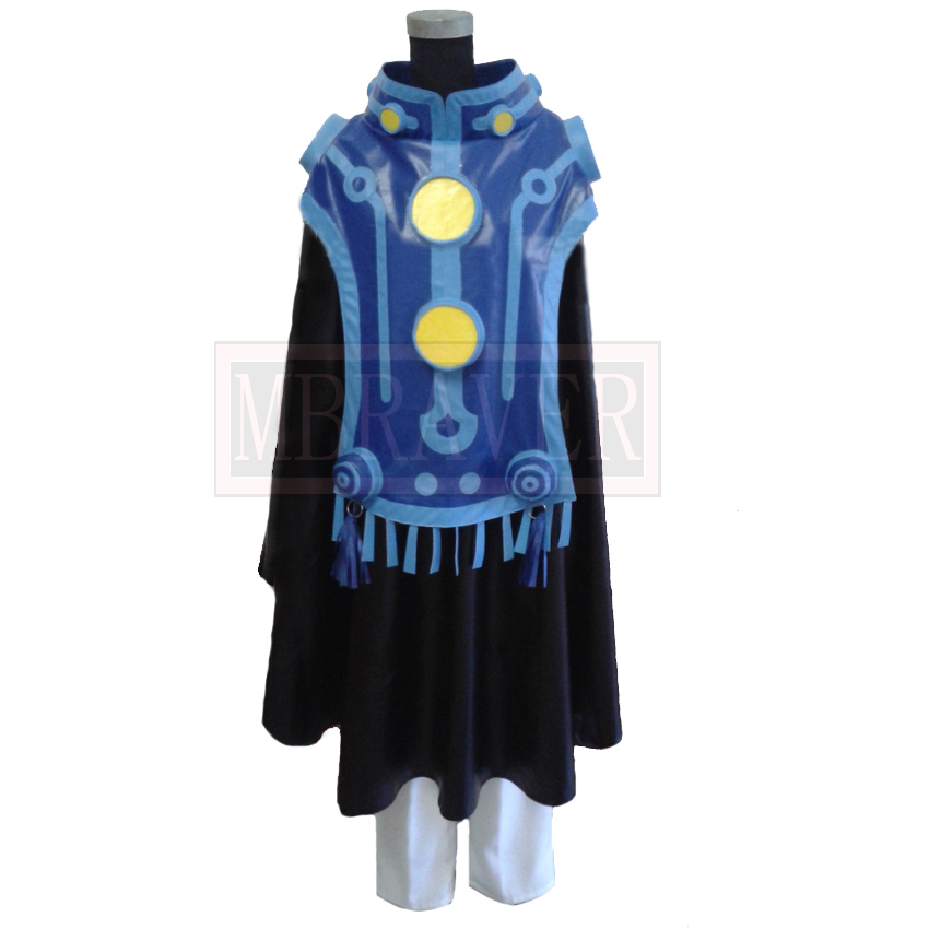 New Anime DMMD Dramatical Murder Ren Cappa Cosplay Costume Hand-Made Custom Made Any Size