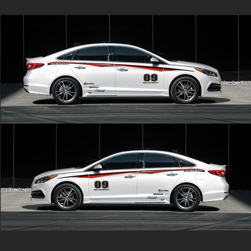 TAIYAO Car Styling Sport Car Sticker For Hyundai SPORT