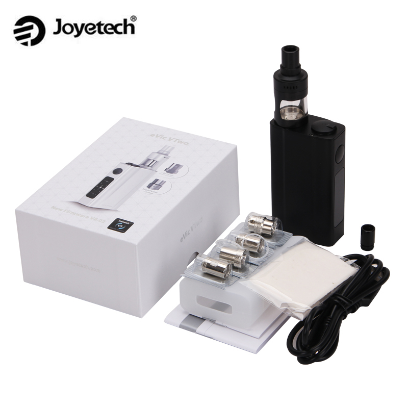 Original Joyetech eVic VTwo with Cubis Pro Starter Kit with 80W eVic VTwo Mod and Cubis Pro 4ml Atomizer стоимость