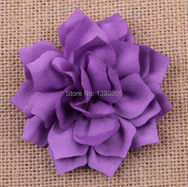 Online Shop Hot Craft Flower Fabric Lotus Flowers Cloth Headwear