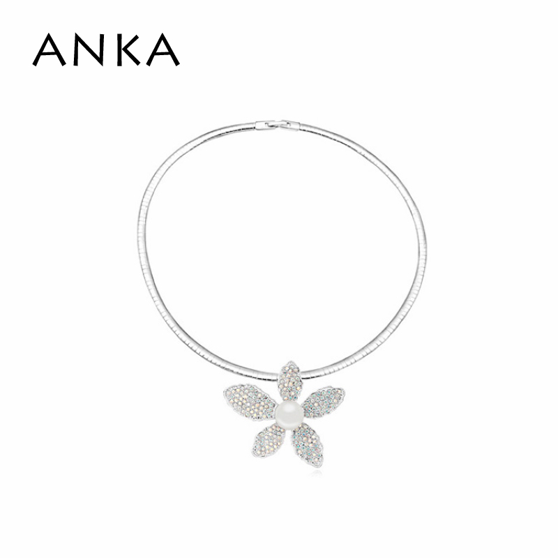 Jewelry Real Accessories 2018 Sale New Chokers Necklaces Pendant Necklace Collar Jewelry Free Shipping Flower Pearl #104372
