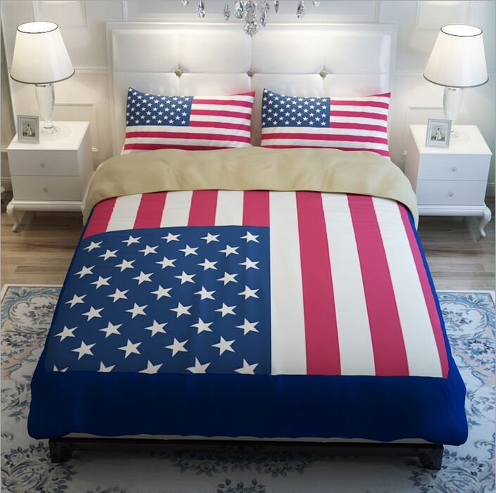 Popular American Flag Bedding-Buy Cheap American Flag Bedding lots ...