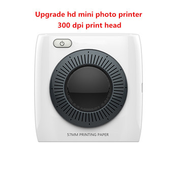 NEW 300 dpi high-resolution portable USB/Bluetooth Pos Mini Thermal Printer Photo Picture Printer  iOS/Android and Windows