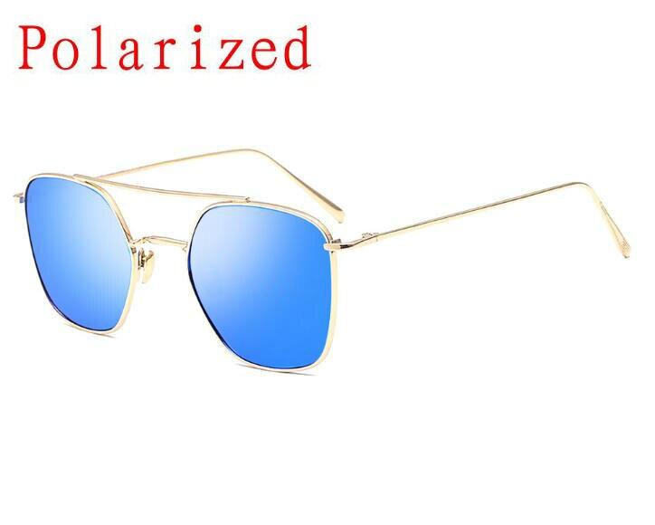 √Nuevo lujo Square Gafas de sol mujer marca diseñador metal Marcos ...