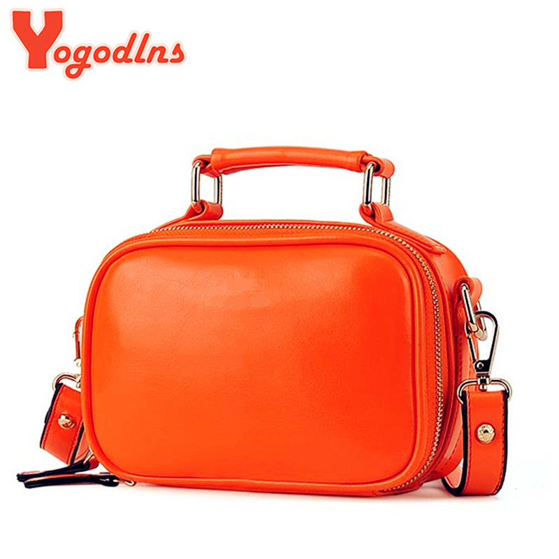 New&Hot ! 2017 candy color women messenger bag shoulder bag small simple fresh color  female evening bag shoulder bags