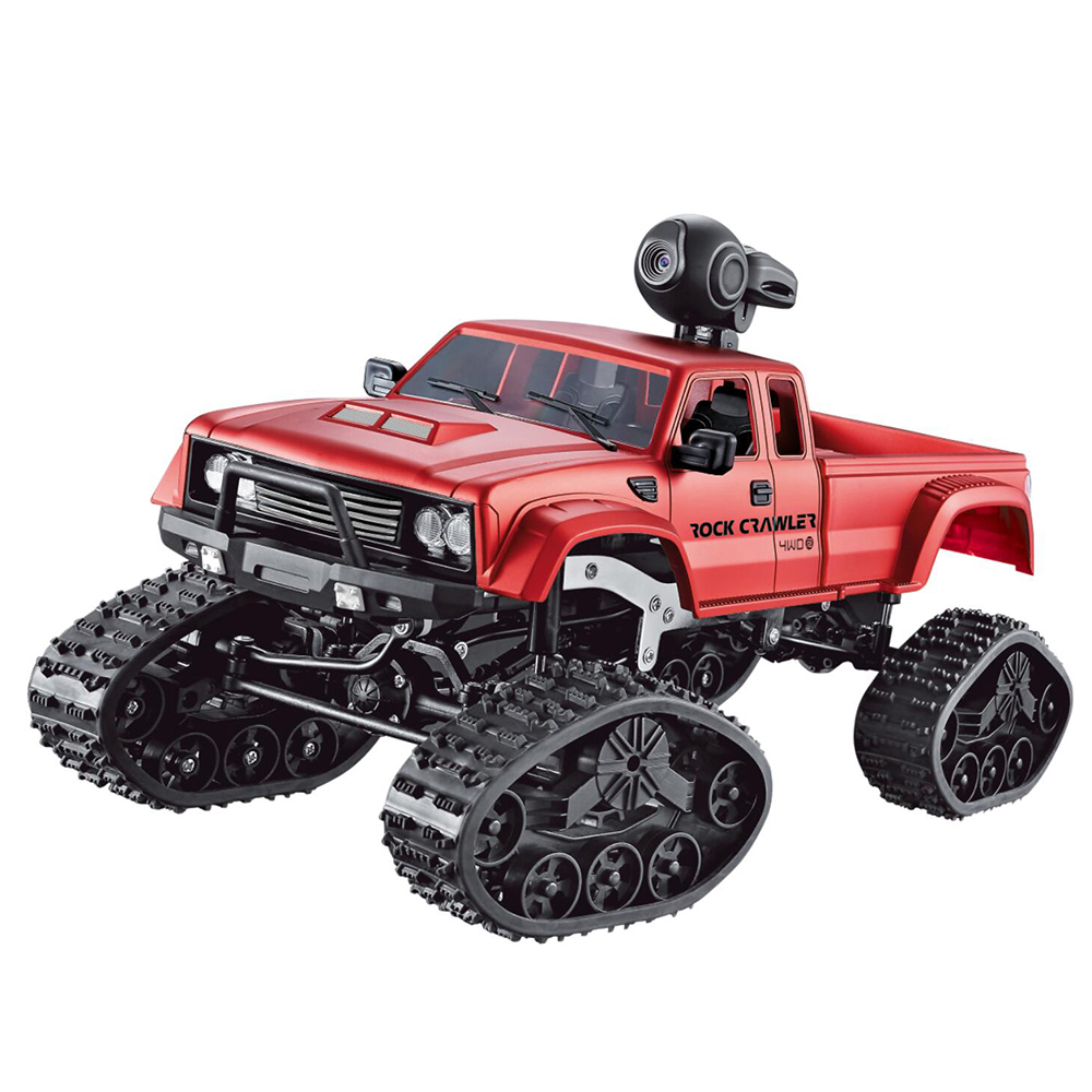 1:16 RC Truck Pickup Truck Climbing Car 0.3MP HD Wifi Camera Buggy Children's Toys 4WD Double Motors Bigfoot Truck
