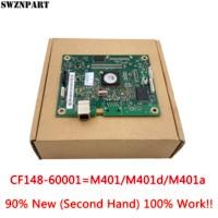 Frete grátis! Formatter pca assy placa lógica placa principal placa mãe mainboard para hp 401d 401 m401d m401 CF148-60001