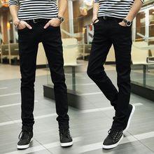 купить Men Ripped Jeans Skinny Biker Jeans 2019 New Spring Ssummer Patchwork Slim Fit Hip Hop Straight Pants Plus Size онлайн