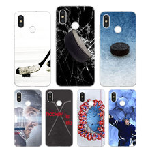 Silicone Phone Case Hockey Sport Fashion Printing for Xiaomi Mi 6 8 9 SE A1 5X A2 6X Mix 3 Play F1 Pro 8 Lite Cover утюг sinbo ssi 6617 1800вт зеленый