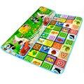 Doble Cara Carta Fruta Baby Play Mats Crawling Pad Niños juego Juguetes Para Los Niños el Desarrollo de Alfombra Estera Alfombra para Niños alfombra