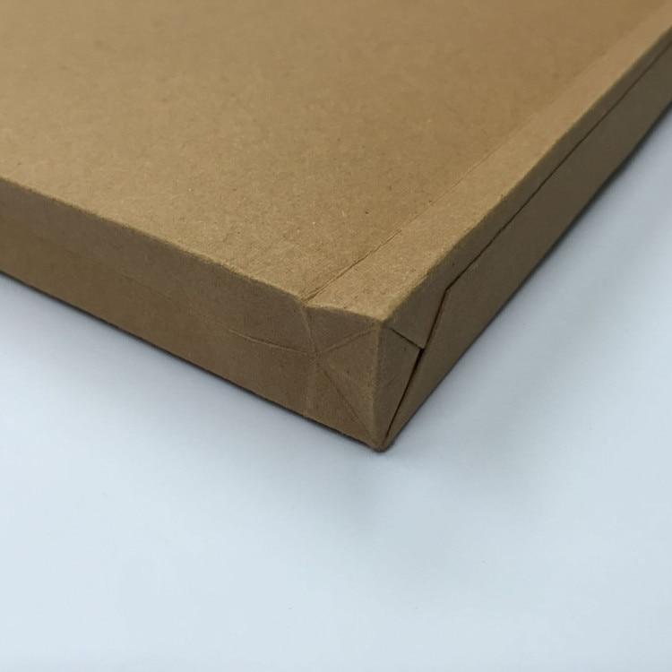 Купить с кэшбэком A4 brown kraft paper file holder envelope bags document storage organizer envelopes with string school office project folder bag