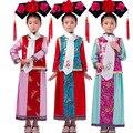 Venta caliente Niños Cosplay Traje Chino Antiguo Traje Niños de la Dinastía Qing Traje de Princesa Traje Chino Tradicional