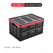 E-FOUR Car Fresh Transport Box Fruit Live Fish Ice Frozen Water Dry Bag Case Vehicle Trunk Storage PP Folding Accessory Cars