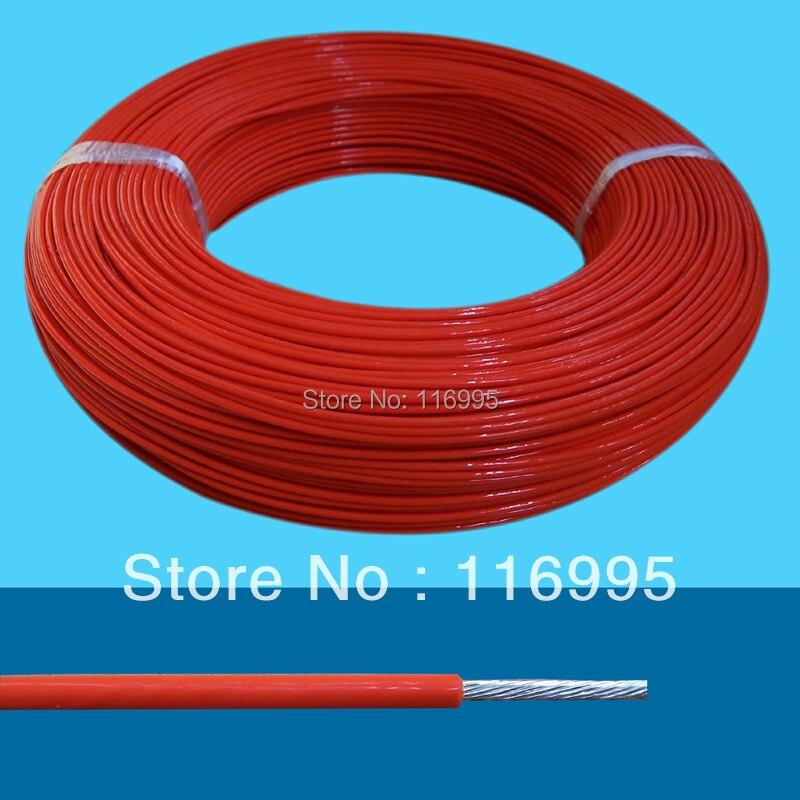 Livraison gratuite 590 mètres 1 rouleau Ul1571awm 32awg 7 core fil électrique diamètre Extérieur 0.6mm fils