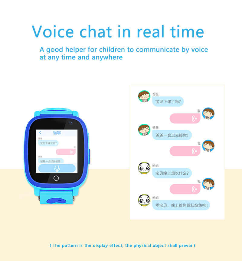 2018 Smart Watch for Child IP67 Waterproof GPS Smartwatch SOS Call Remote Monitor Camera Safty Finder Baby Kids Smart Clock S11