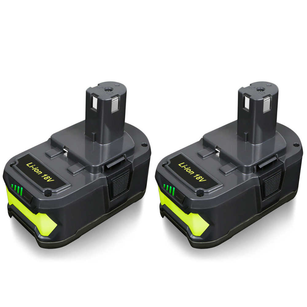 Abakoo pour Ryobi 6000mAh 18V P108 Li-Ion haute capacité outil de remplacement de batterie RB18L40 BPL1820 P107 P104 pour ONE + BIW180
