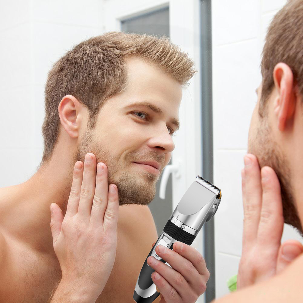 Hair shaver clippers razor beard trimmer - Electric Men S Kids Hair Clipper Cutting Beard Trimmer Fine Grooming Shaver