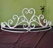 Европейский стиль железная занавеска для сада кровать мантия
