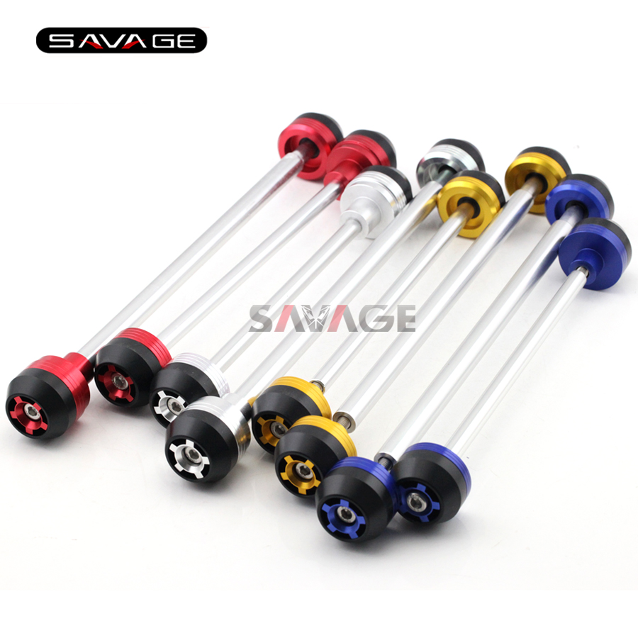 For DUCATI MONSTER 749 999 S/R 03 04 05 06 07 Motorcycle Rear Front Axle Fork Crash Sliders Wheel Protector Falling Protection