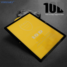 For Huawei MediaPad T5 10 10.1'' 10D Full Cover Tempered Glass Screen Protector For Huawei T5 10 AGS2-L09/W09/L03/W19 Glass Film(China)