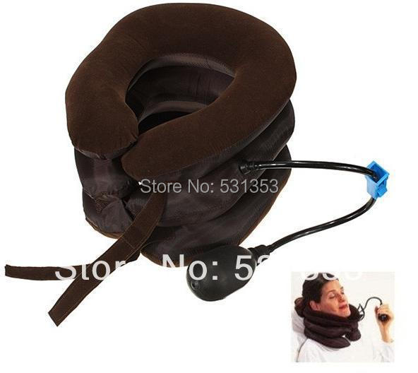 High quality, pneumatic cervical traction neck support device , relieve head pain healthcare gynecological multifunction treat for cervical erosion private health women laser device