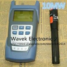 2 в 1 FTTH Набор инструментов для оптического волокна волоконно-оптический измеритель мощности-70+ 10dBm и 10 км 10 мВт Визуальный дефектоскоп Волоконно-оптическая тестовая ручка