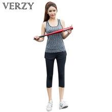 Women Yoga Set Sport Suit 2018 Vest + Pants Elasticity Gym Running Young Women's Yoga Clothes Fitness Outdoor Comfortable M-3XL