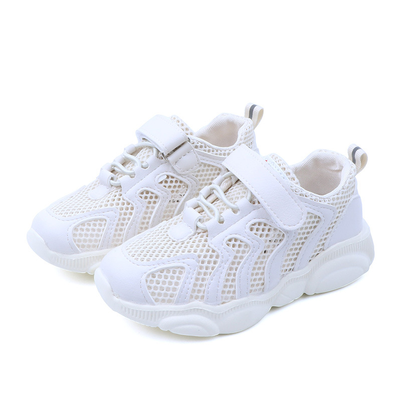 summer autumn fashionable net breathable leisure sports running shoe for girls shoes for boys brand shoes kids toddler sneakers in Sneakers from Mother Kids