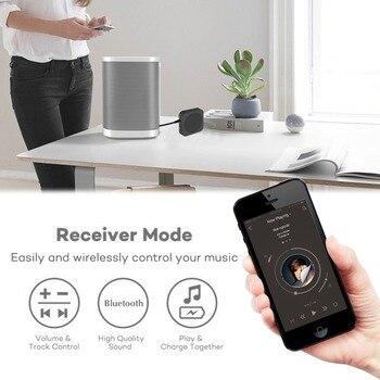 Transmisor y receptor convertidor inalámbrico Bluetooth 4,2 adaptador de Audio de 3,5mm para iPhone TV CD-player NS PS4 sistema de Radio para coche