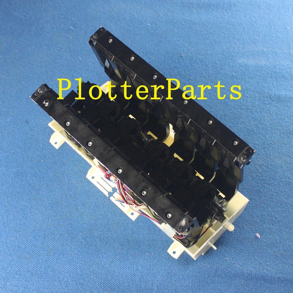 все цены на HP Q6675-60019 Ink Supply Station (ISS) assembly for DesignJet Z2100 Z5200 plotte parts Used онлайн