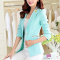2016 new fashion blazer women outerwear elegant long-sleeve slim all-match blazer short jacket summer female suit jacket