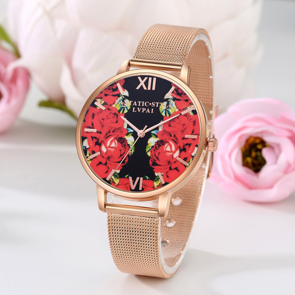 Women Watches Luxury Brand  NEW Stainless Steel Analog Quartz Round Wrist Watch Bracelet For 's Fashion Dropshipping