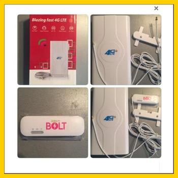 E8372 E8372H-153 LTE 4G wifi modem  plus double TS9 connector   high again 4G  antenna