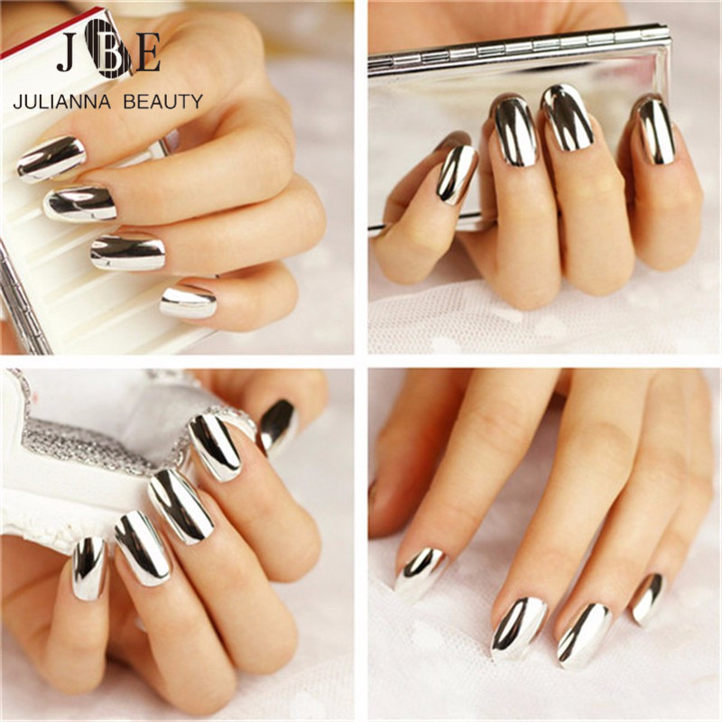 1Pcs Nail Art Sticker Patch Punk Rock Styles Metal Foils Nail Art ...