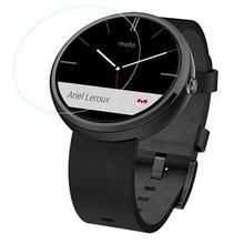 1-pack 0,2mm premium 9 h ausgeglichenes glas flim displayschutzfolie für moto 360 smartwatch