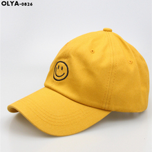 OLYA 2019 THE700 A new generation of smiley face cartoon caps for both men and women цена