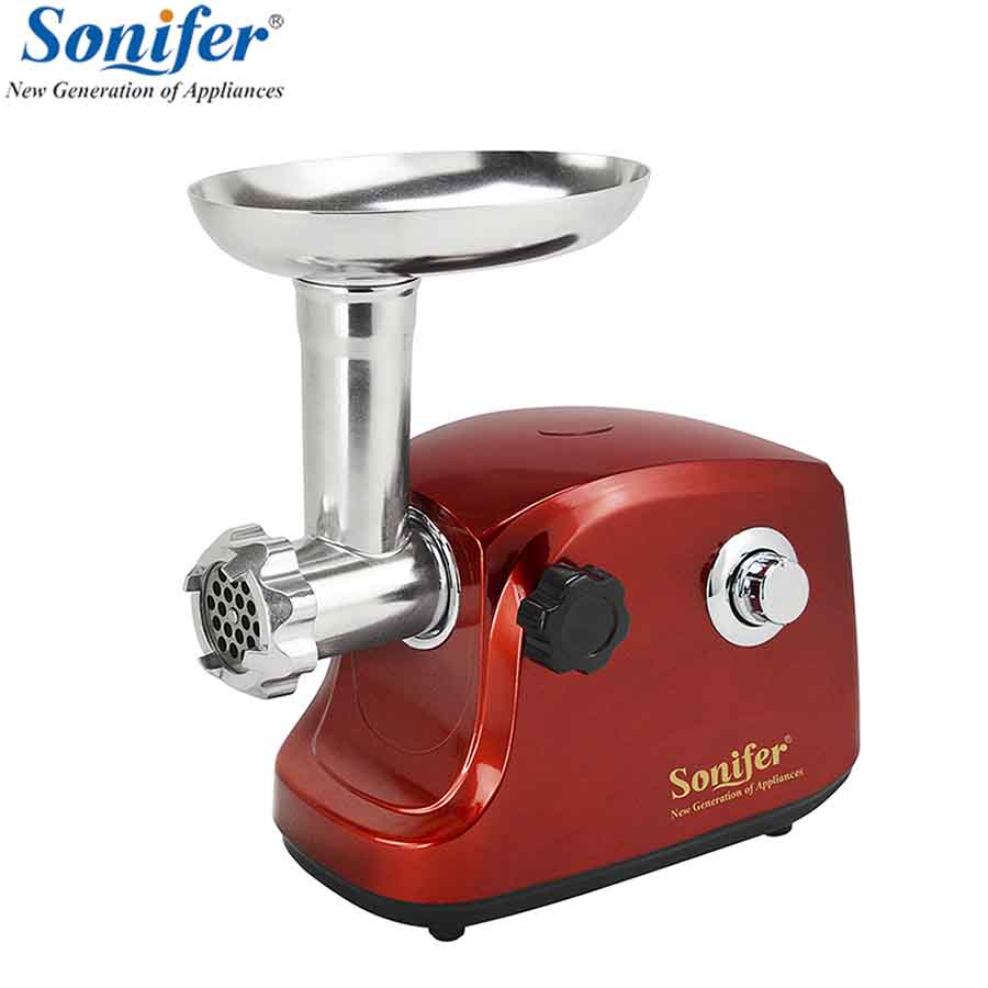 1500W Colorful Home Electric Meat Grinder Sausage Stuffer Mincer Heavy Duty Household Mincer Sonifer 110 240v electric meat grinder heavy duty household commercial sausage maker meats mincer food grinding mincing machine