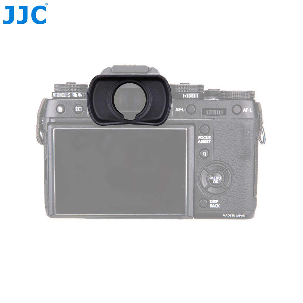JJC наглазник силиконовая глазная чаша видоискатель наглазник для ЖК-дисплея с подсветкой Fujifilm X-T1/X-T2/GFX-50S заменяет EC-XT L/EC-GFX/EC-XT м/EC-XT S dslr камера