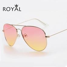 Vintage Women Glasses Pilot Sunglasses Women Brand Designer gafas oculos de sol feminino Coating Sunglass SS065