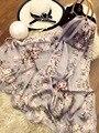Sakura Elegante color Impreso Moda Joven 100% Bufanda De Seda Del todo-partido la temporada Pashmian ZSCJ34 Bufandas Mujeres Regalo