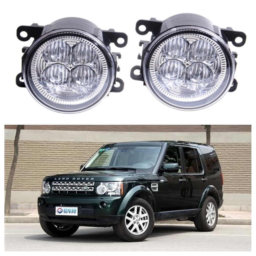 For LAND ROVER DISCOVERY 4 LR4 LA 2010-2013 10W High power Lens fog lights Car styling Fog Lights 1set