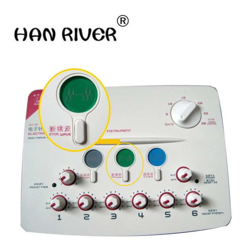 Hwato therapeutic massage Nerve and Muscle Stimulator SDZ-II massage electronic pulse needle Set hwato sdz ii therapeutic massage nerve and muscle stimulator massager electronic pulse needle set