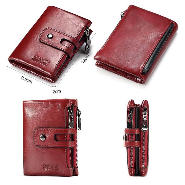 Billetera 100% de cuero genuino de los hombres, Cartera de hombre bolso de diseñador de lujo de titular de la tarjeta de foto tarjeta titular moneda monedero, carpeta de cuero para hombre