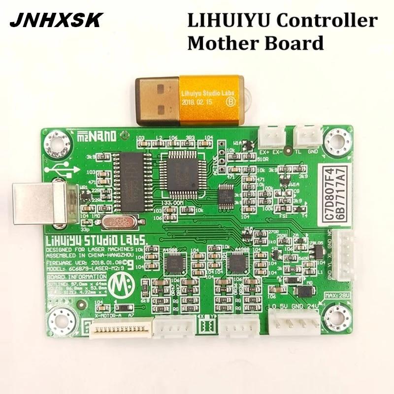 LIHUIYU M Main Board Co2 Laser Controller Engraver Cutter Dongle Panel USB