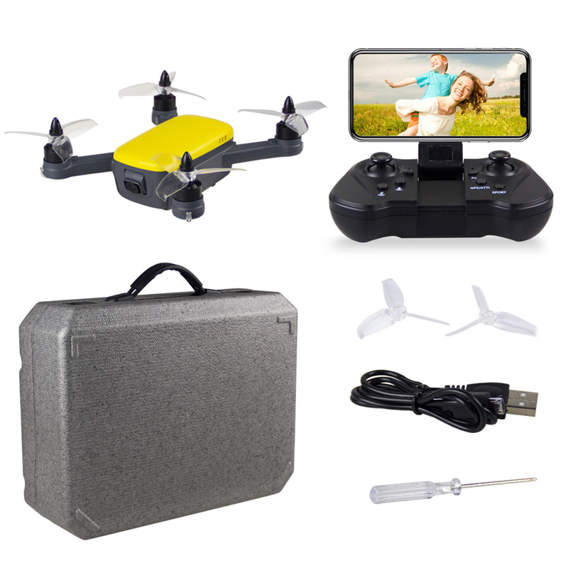 FUNSKY 913 GPS 5G WiFi FPV with 1080P HD Camera Altitude Hold Mode Brushless RC Drone Quadcopter RTF 2